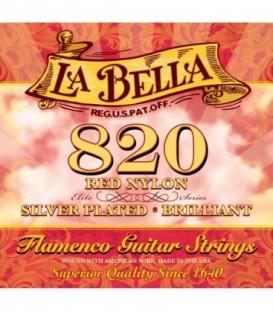 Juego cuerdas clásica La Bella Flamenca 820