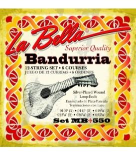 Juego cuerdas bandurria La Bella MB550