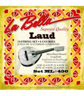 Juego cuerdas laud La Bella ML450