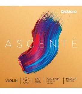 Juego cuerdas violin Daddario ascente 4/4 A310