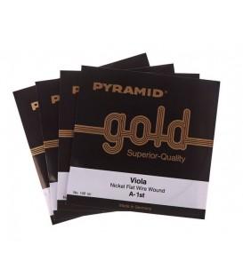 Juego cuerdas viola Pyramid gold 140100