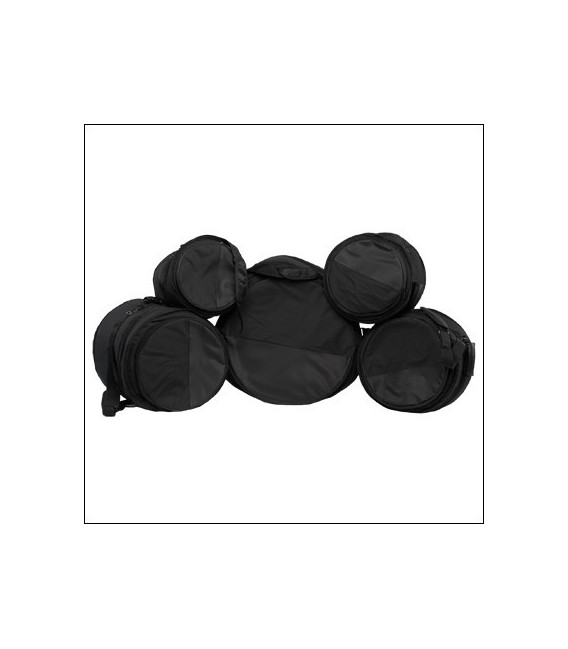 Set 5 fundas bateria Ortola acolchado 10mm