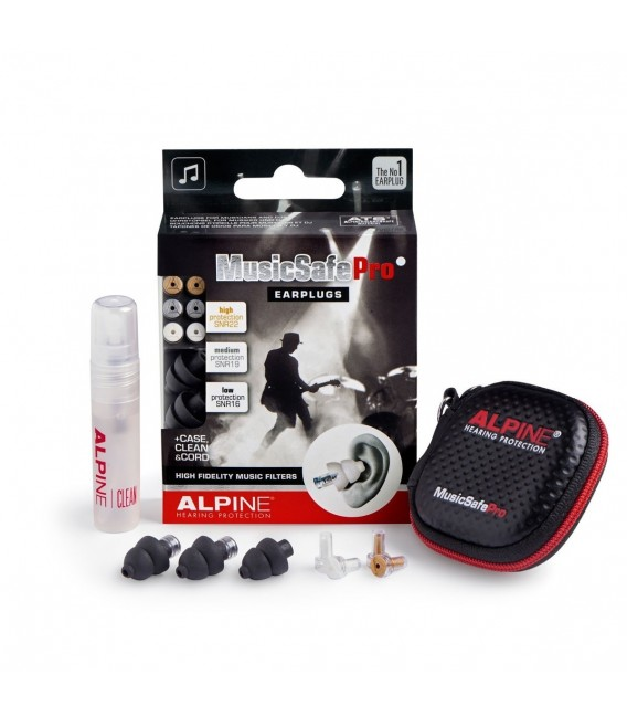 Tapones Alpine MusicSafe Pro negro