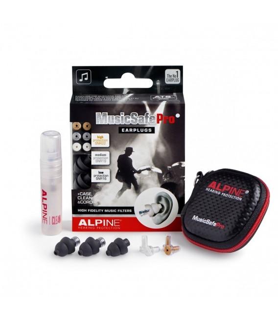 Alpine MusicSafe Pro black earplugs