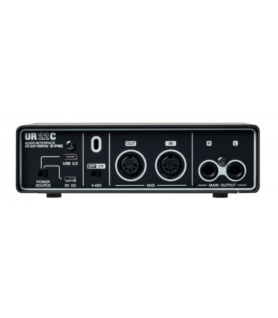 Interface de audio/MIDI Steinberg UR22C
