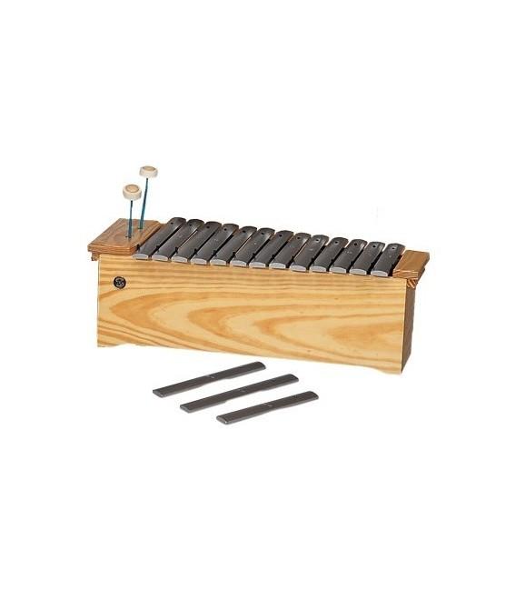 Metalófono alto diatónico Samba R361