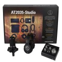 Pack de grabación Audiotechnica AT2035 Studio Kit