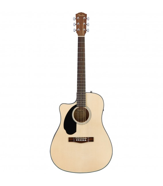 Electroacústica Fender CD60SCE LH NAT para zurdos