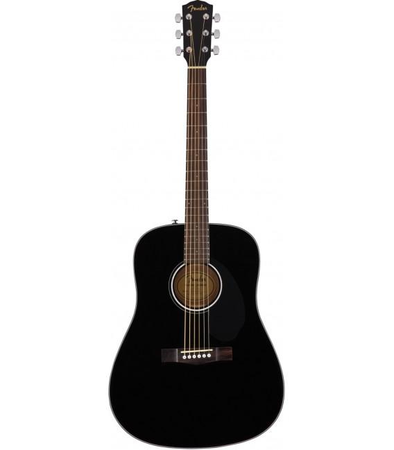 Fender CD60S BK acoustic guitar