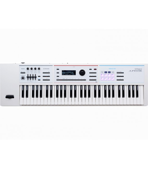 Roland Juno DS61 White synthesizer