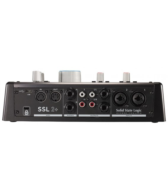 Interface de audio/MIDI SSL2+