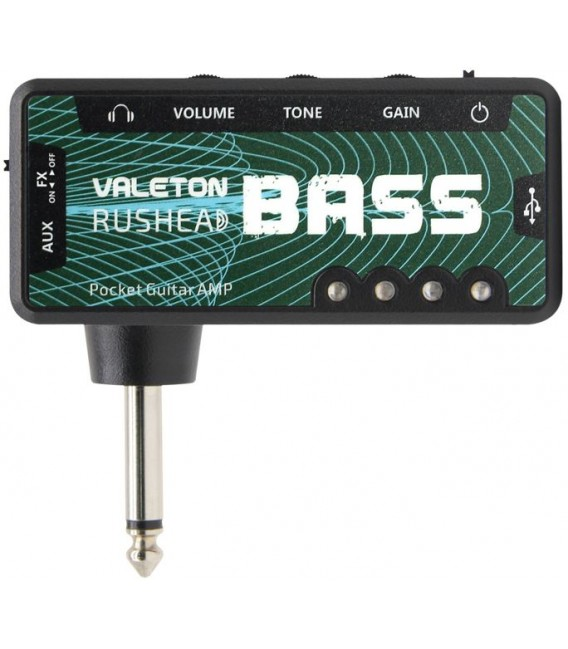 Amplificador de auriculares Valeton Rushead Bass RH-4