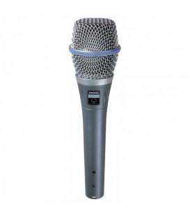 Micrófono de condensador Shure Beta 87A