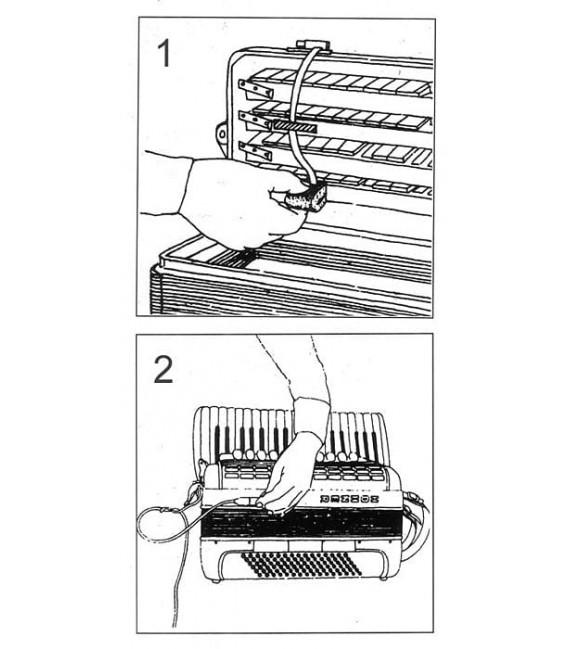 Micrófono acordeón Hohner AZ7200