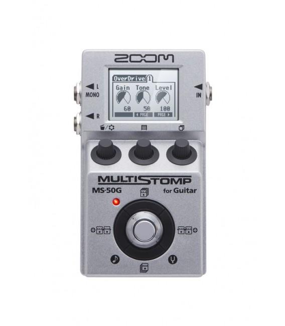 Pedal multistomp para guitarra Zoom MS50B
