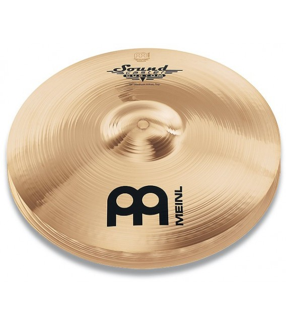 """14"""" Hi-Hat Meinl Soundcaster Custom Medium CS14MH-B cymbals"""