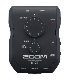Zoom U-22 Audio Interface