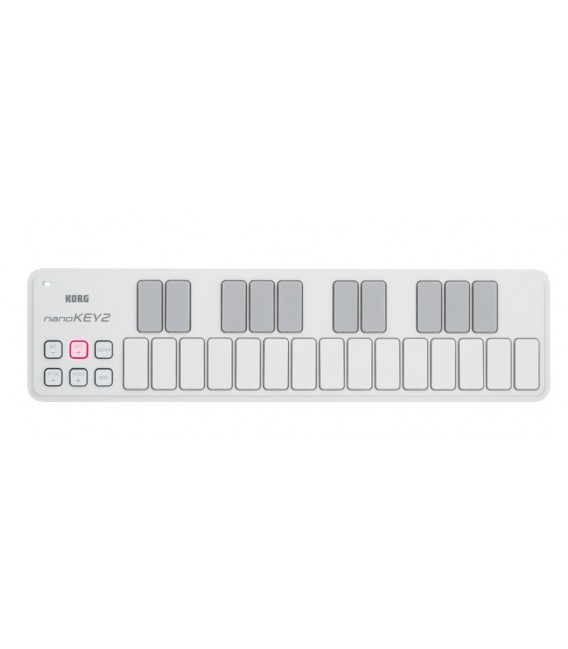 Miniteclado Controlador Korg Nanokey 2 WH