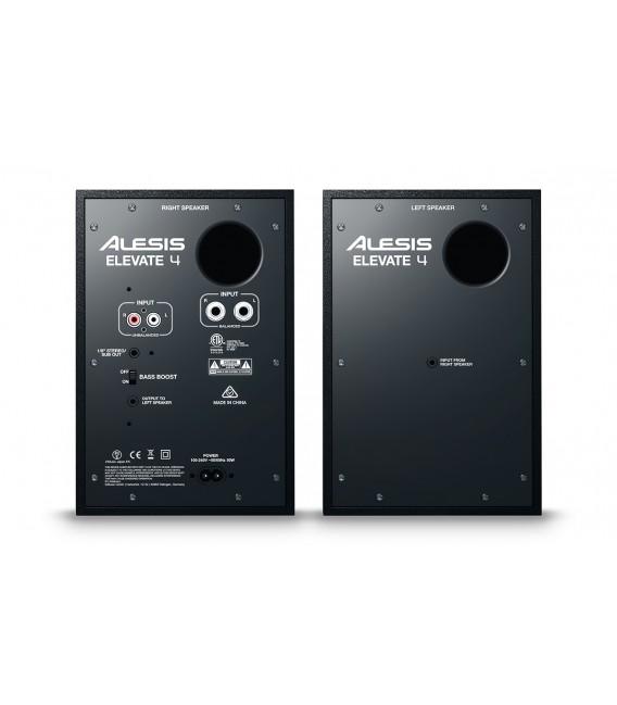 Par de monitores de estudio Alesis Elevate 4