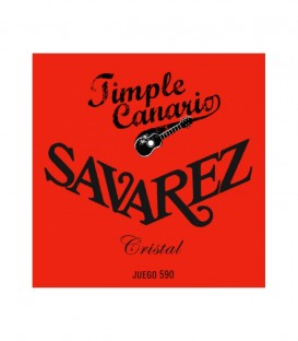 Juego cuerdas Timple Savarez 590