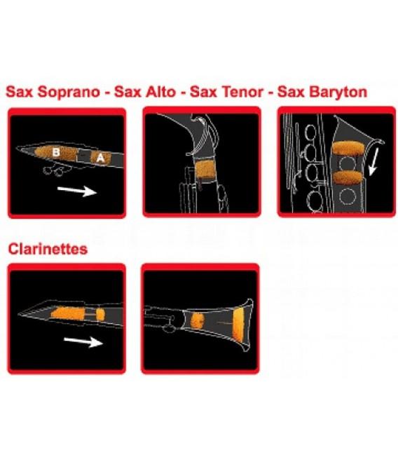 SAX MUTE - Sordina Para Saxofón Soprano