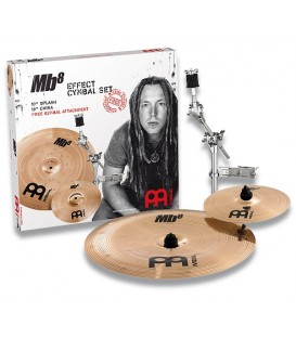 "Meinl MB8 Effect Cymbal Set 10""+18"" cymbals pack"