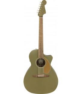 Electroacústica Fender Newporter Player Olive Satin