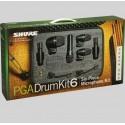 Kit de micrófonos para batería Shure PGA DRUMKIT 6
