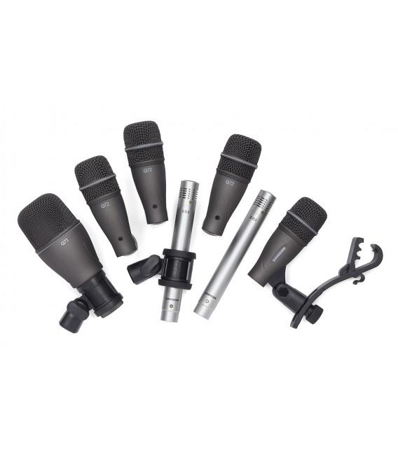Kit de micrófonos para batería Samson DK707