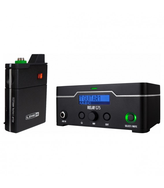 Line 6 Relay G75 wireless system