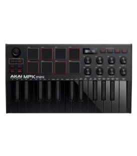 Teclado controlador Akai MPK Mini Mk3 BK