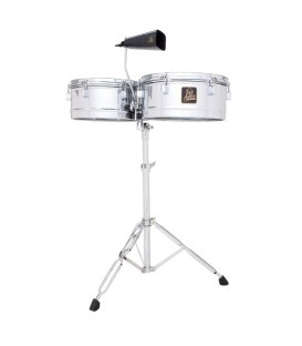 "LP Aspire LPA256 13""&14"" chrome timbale"