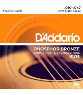 Daddario EJ15 strings set 10-47
