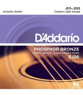 Juego cuerdas Acústica Daddario EJ26