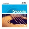 Juego cuerdas Acústica Daddario EJ16 12-53