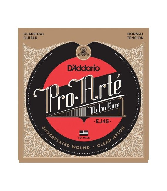 Daddario classic guitar strings EJ45