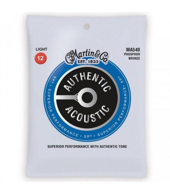 Juego cuerdas acústica Martin MA540 12-54