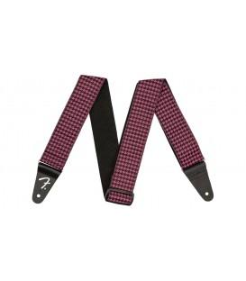 """Fender Houndstooth 2"""" strap, pink"""