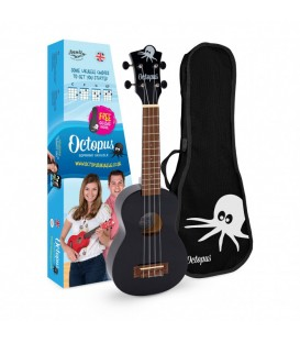 Ukelele Octopus UK-205BK negro