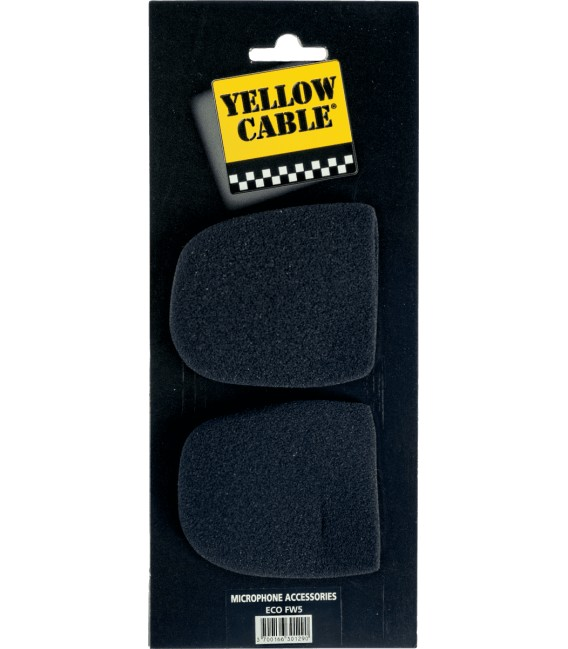 Yellow Cable windscreen ECO-FW5