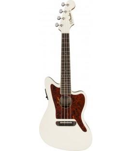 Ukelele Fender Fullerton Jazzmaster Olympic White