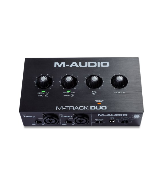 Interface de audio M-Audio M-Track Duo