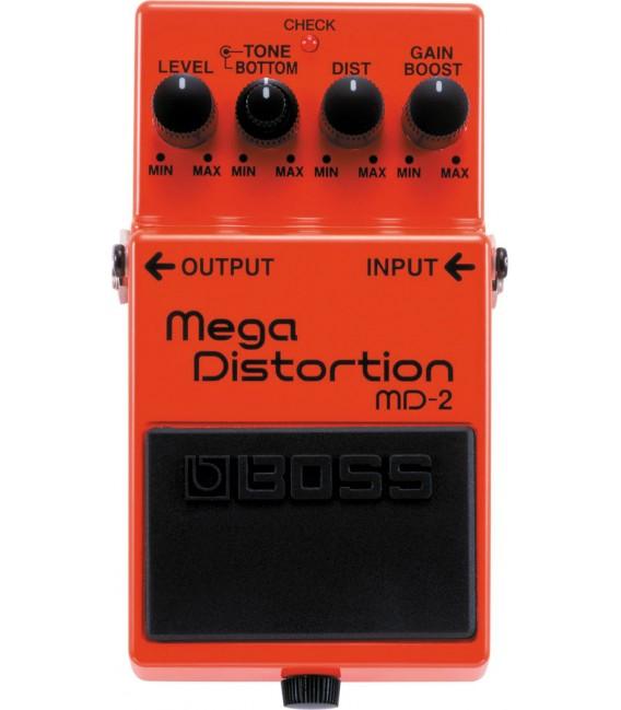 Boss MD-2 Mega Distortion pedal