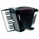 Hohner Bravo II 48 bass black accordion