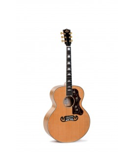 Sigma GJA-SG200-AN electro acoustic guitar