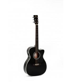 Sigma 000MC-1E-BK electroacoustic guitar
