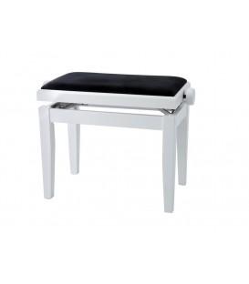 Gewa Adjustable piano bench white matt
