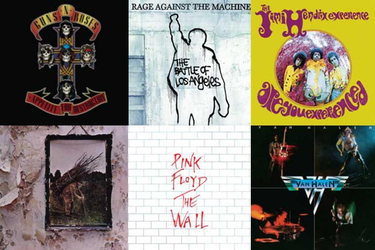 Lista de reproducción: las mejores guitarras del rock