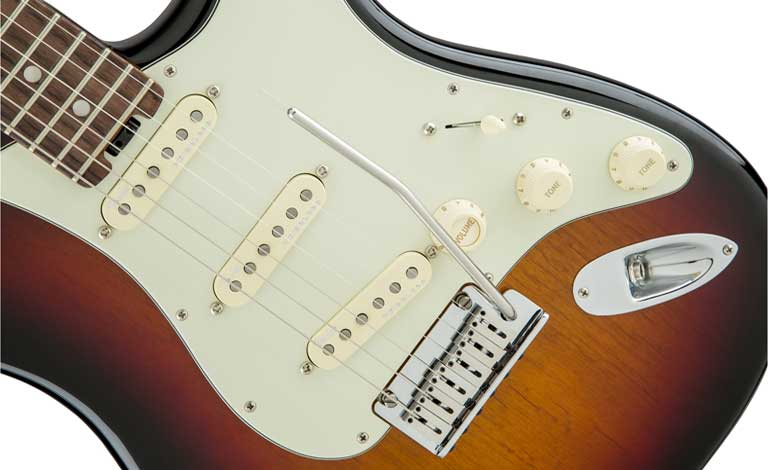 The new generation of Fender electric guitars