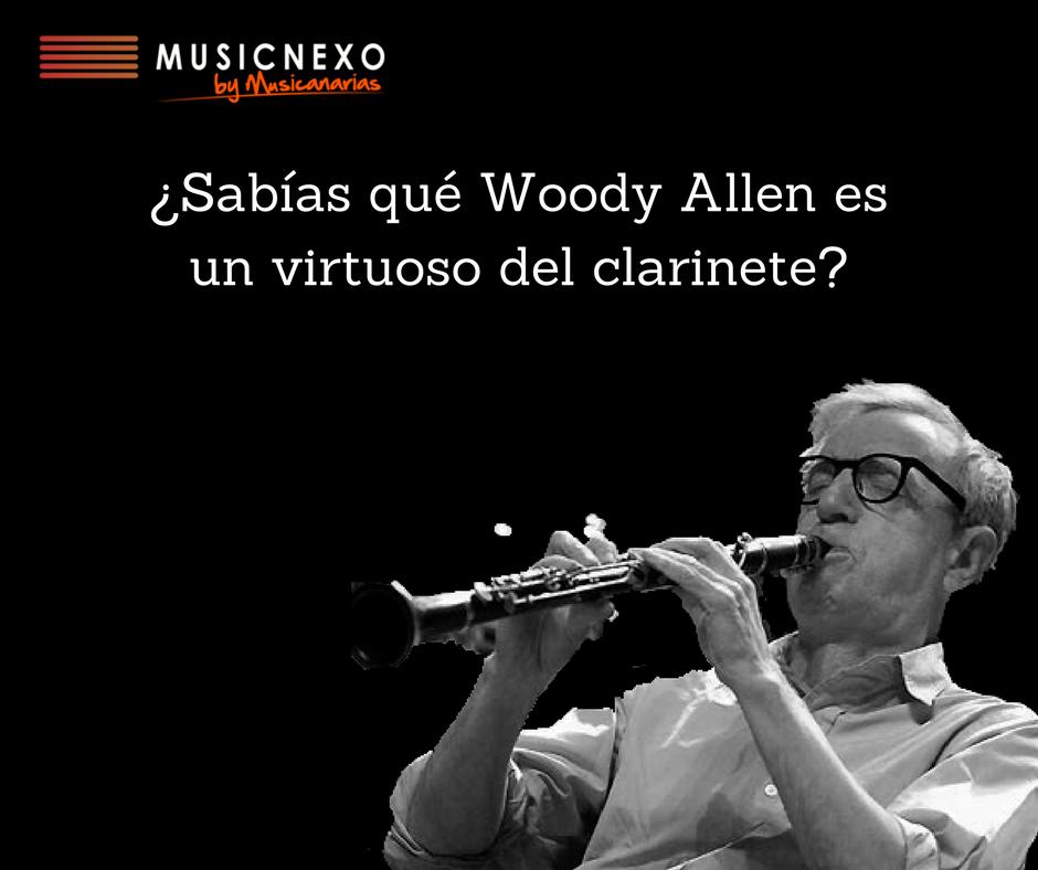 Woody Allen clarinete